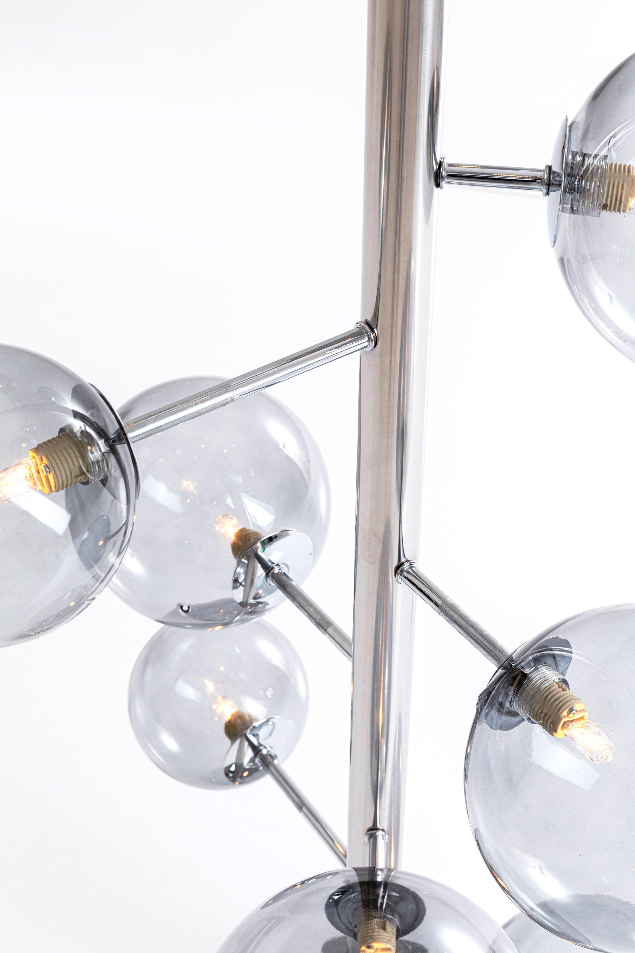 FLOOR LAMP BALLOON SMOKE 12 (EXCLUDING BULB)