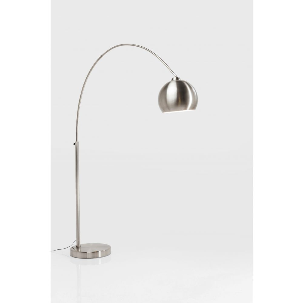 Lamp Floor Lounge Satin Small Deal (Excluding Bulb)