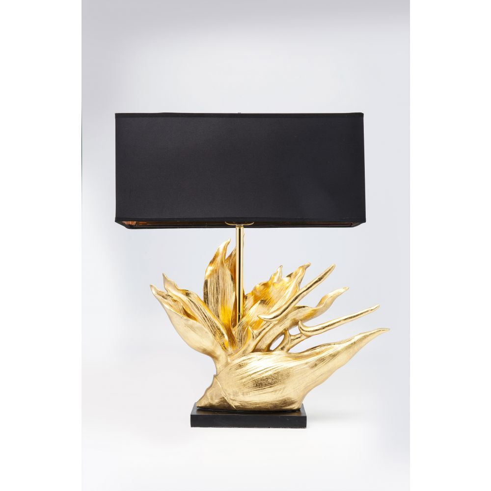 Table Lamp Tropical Flower (Excluding Bulb)