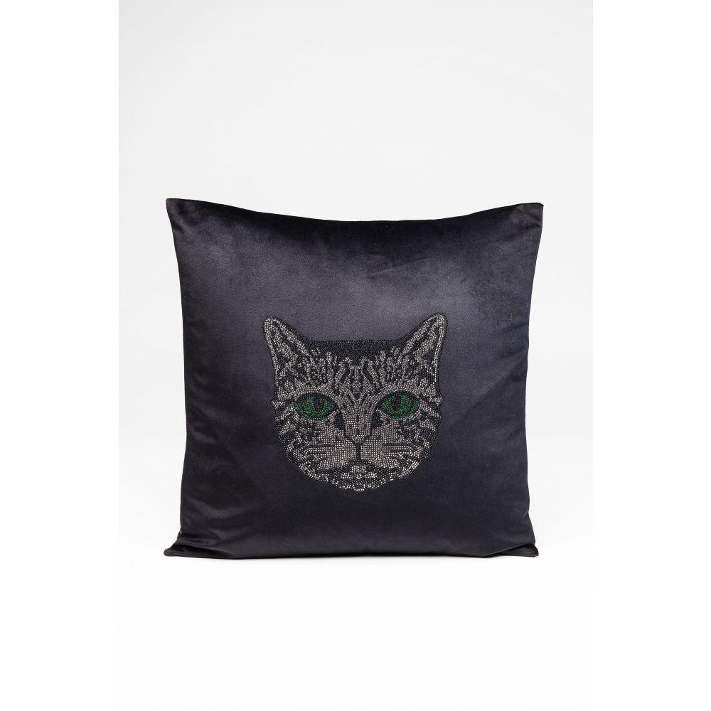 Cushion Cat Face 45X45Cm