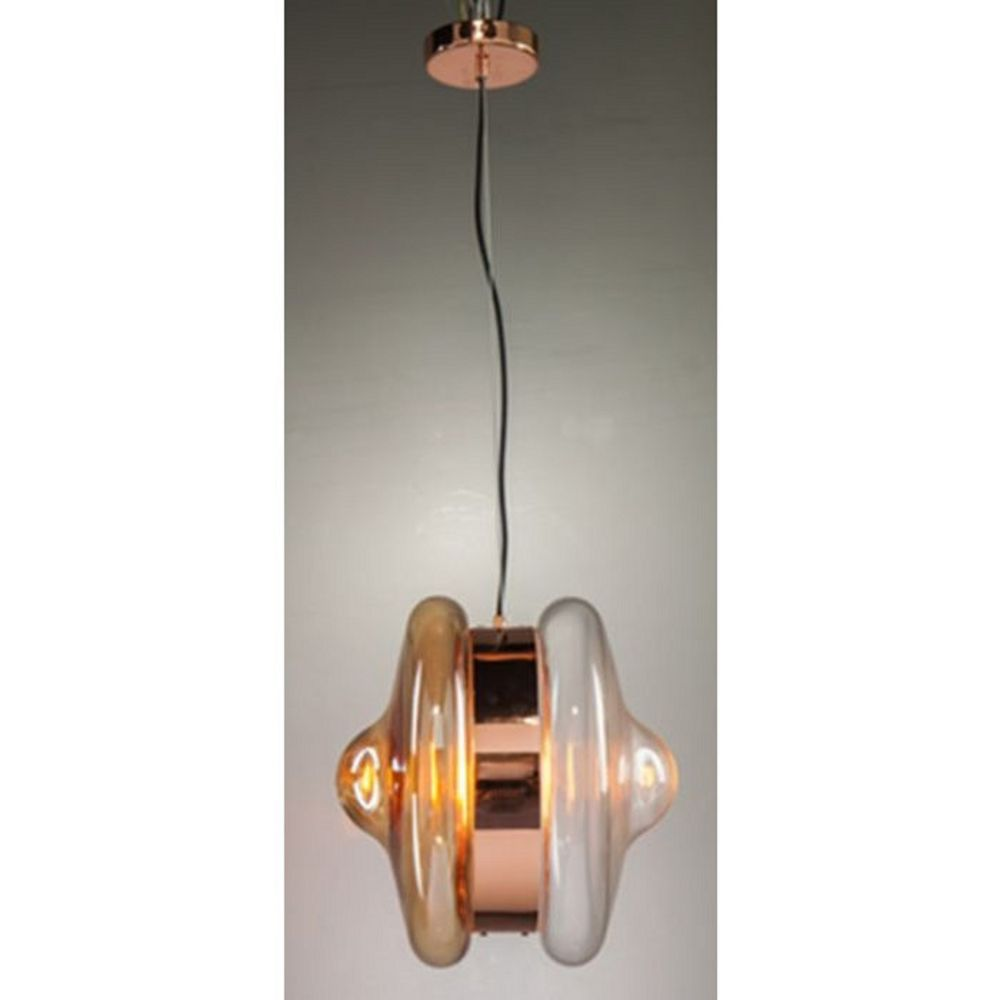 Pendant Lamp Jojo Amber (Excluding Bulb And Socket)