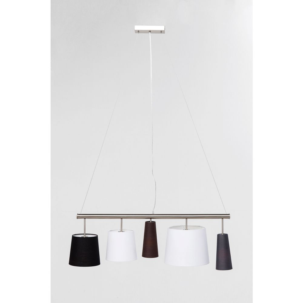 Pendant Lamp Parecchi Silver 100Cm (Excluding Bulb And Socket)