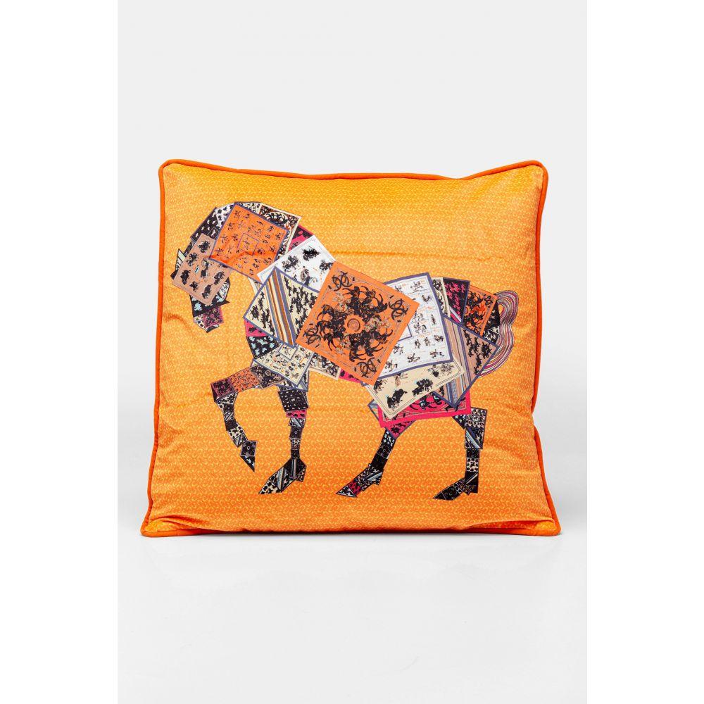 Cushion Knight Horse 50X28Cm