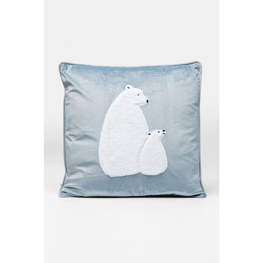 Cushion Polar Bear Family 50X28Cm