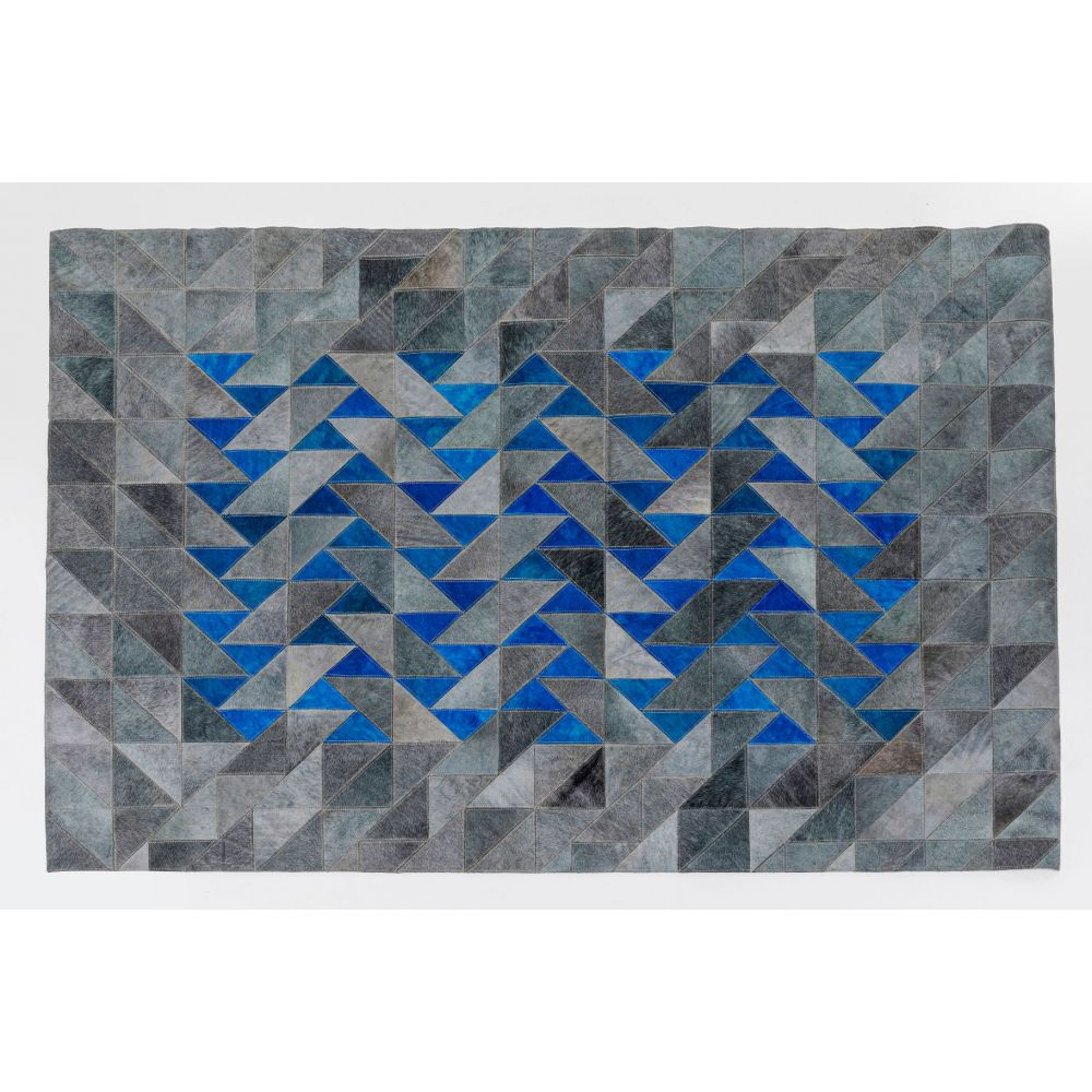 Carpet Triangle Grey 170X240Cm,Grey