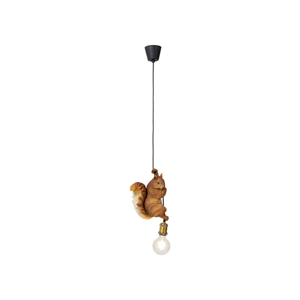 Pendant Lamp Squirrel Brown (Excluding Bulb And Socket)