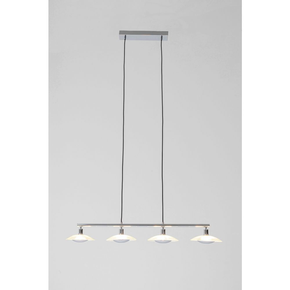 Pendant Lamp Ufo Dining Quattro,Silvery (Excluding Bulb And Socket)
