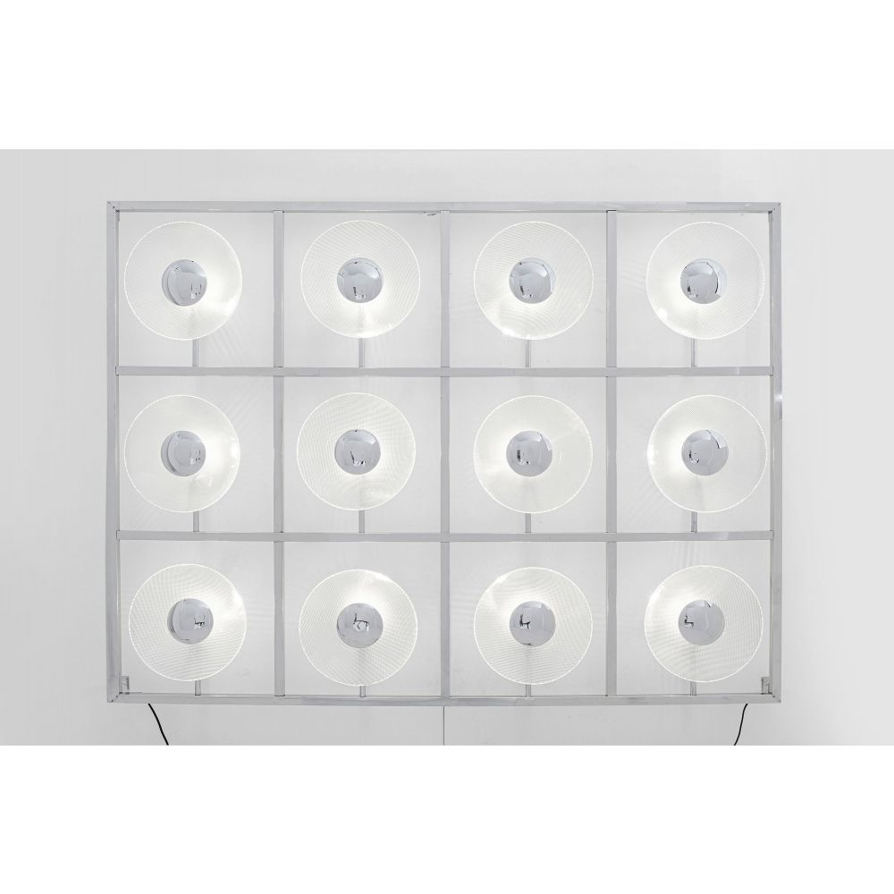 Wall Lamp Ufo 12Light,Silvery (Excluding Bulb And Socket)
