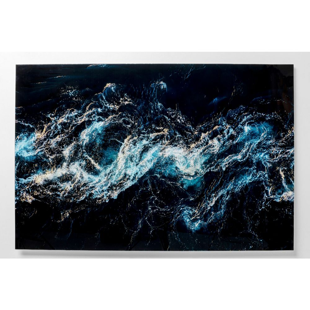 Picture Glass Blue Portal 150X100