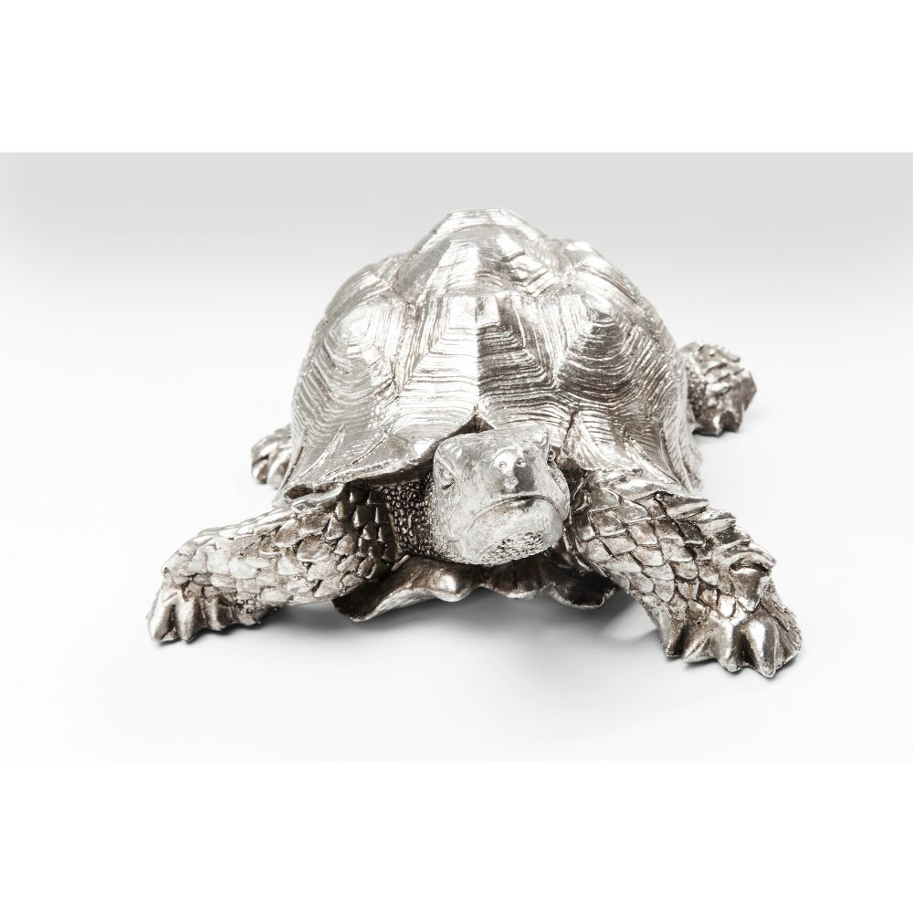Deco Figurine Turtle Silver Small
