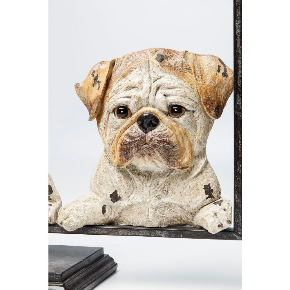 Deco Object Dogs With Frame 63Cm,Brown