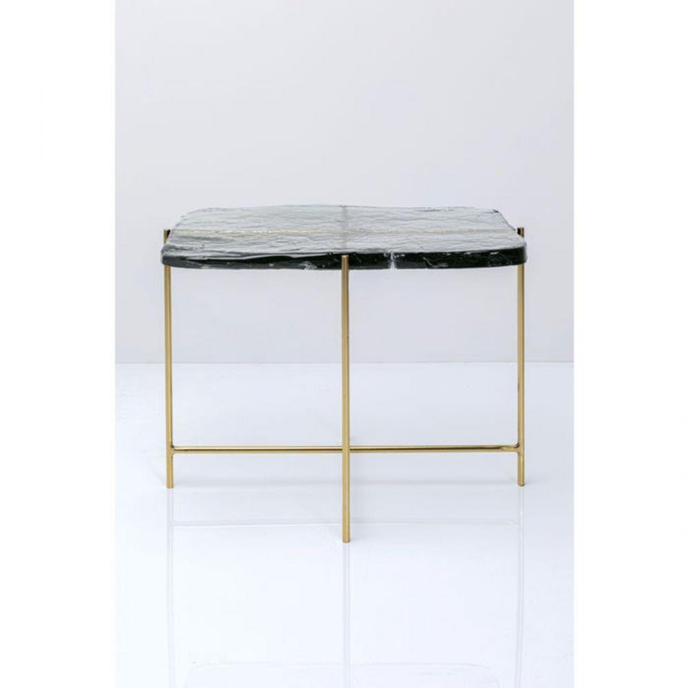 Coffee Table Ice Double Glass63X46Cm