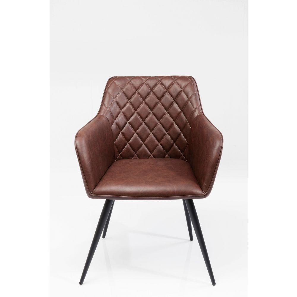 Chair With Armrest San Remobrown