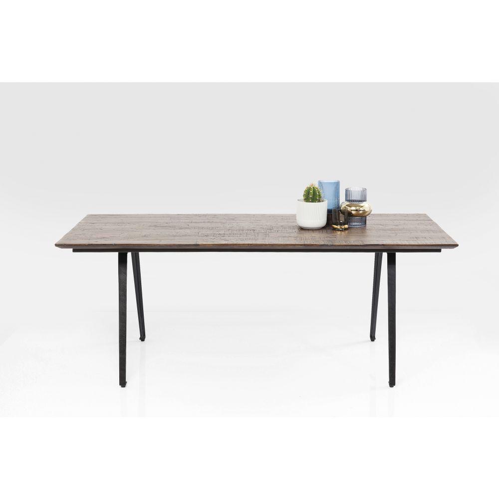 Diningtable Paradise 200X90Cm Wood/Metal