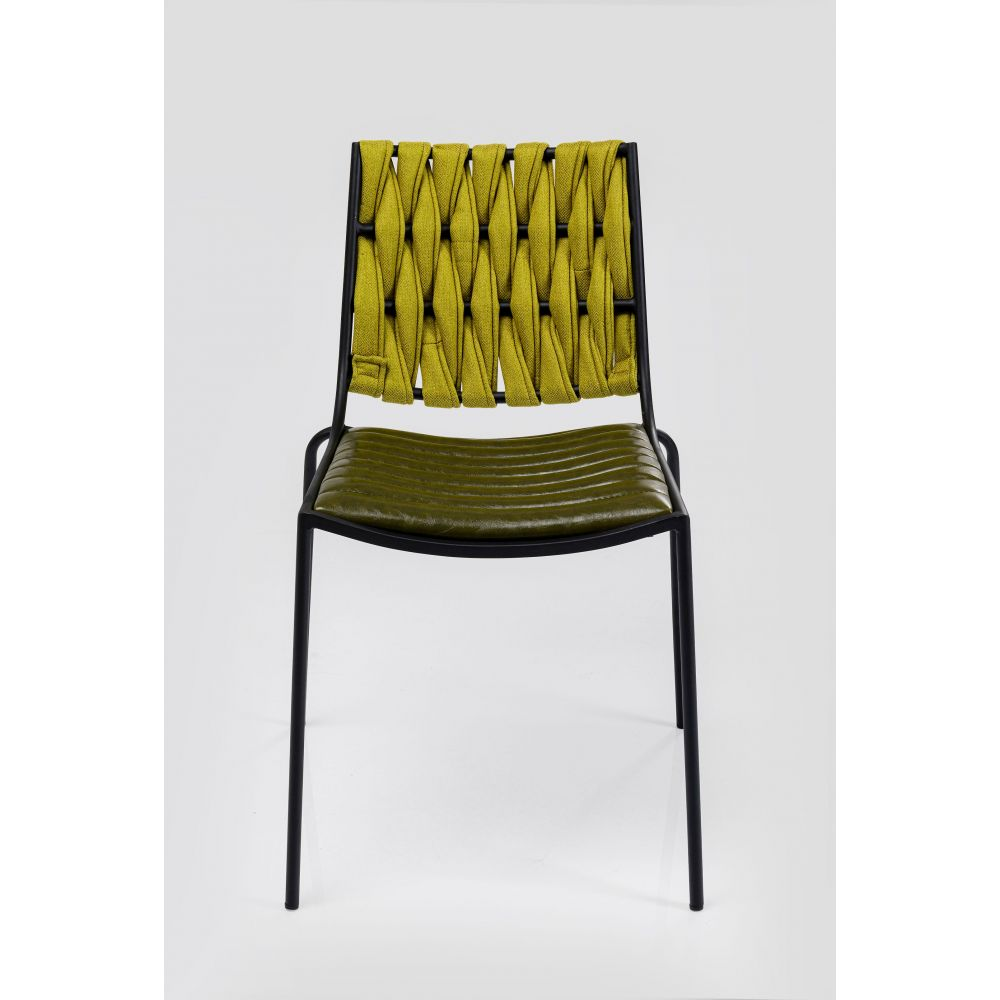 Two Face Dining Chair Green