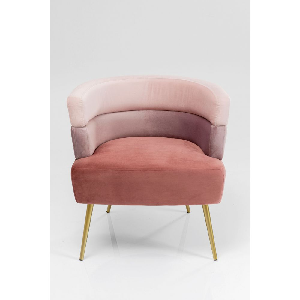 Sandwich Arm Chair Mauve,Fab