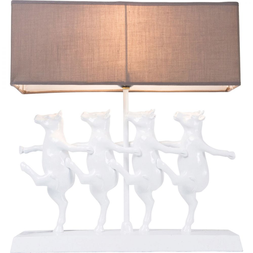 Table Lamp Dancing Cows (Excluding Bulb)