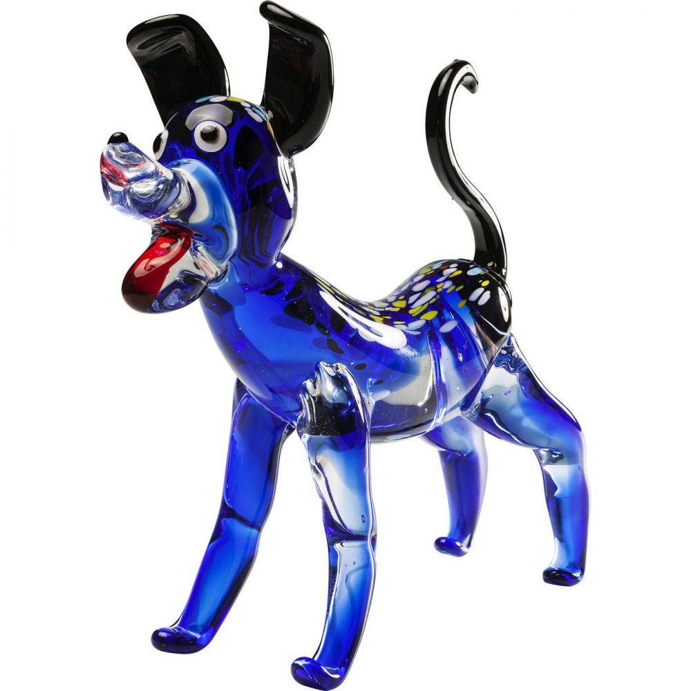 Deco Figurine Blue Dog