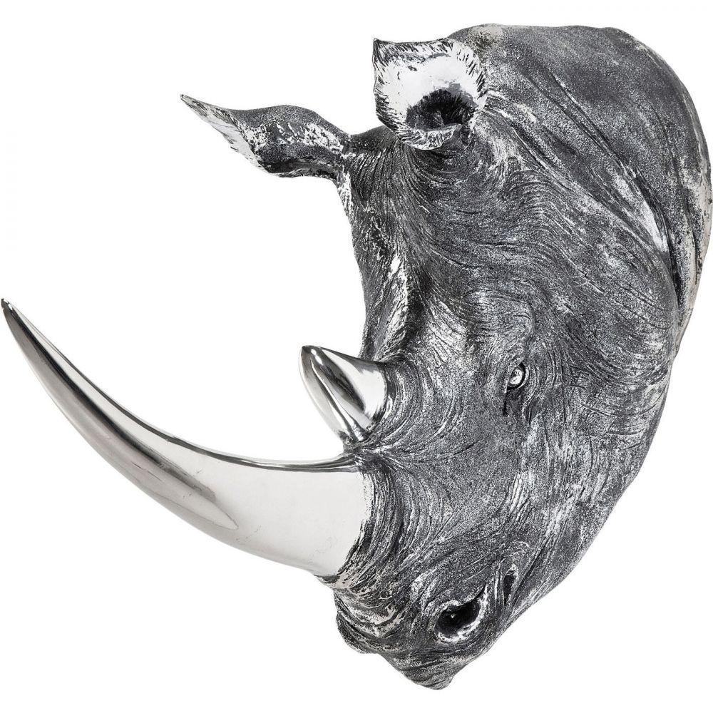 Deco Head Rhino Antique