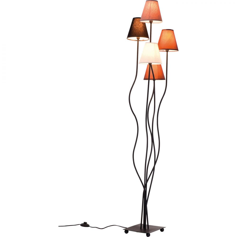 Floor Lamp Flexible Mocca Cinque (Excluding Bulb)