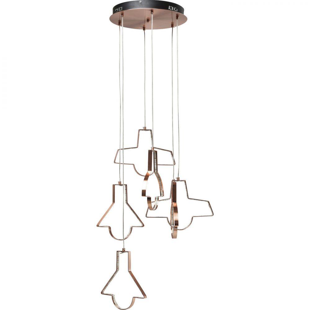 Pendant Lamp Foggia Led 6-Lite (Excluding Bulb And Socket)