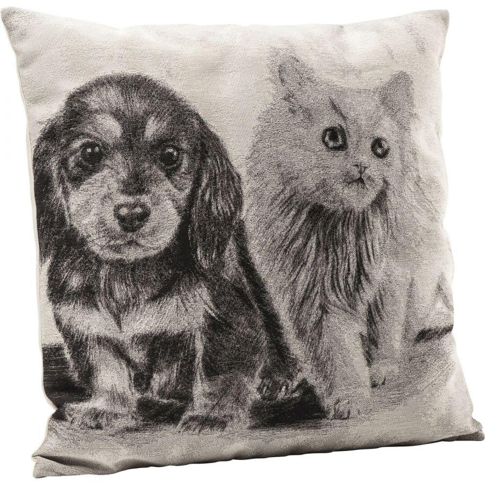 Cushion Little Cat and Dog 45x45cm