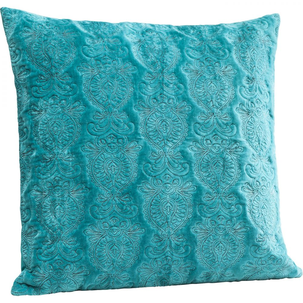 Cushion Pomp Turquoise 55x55cm