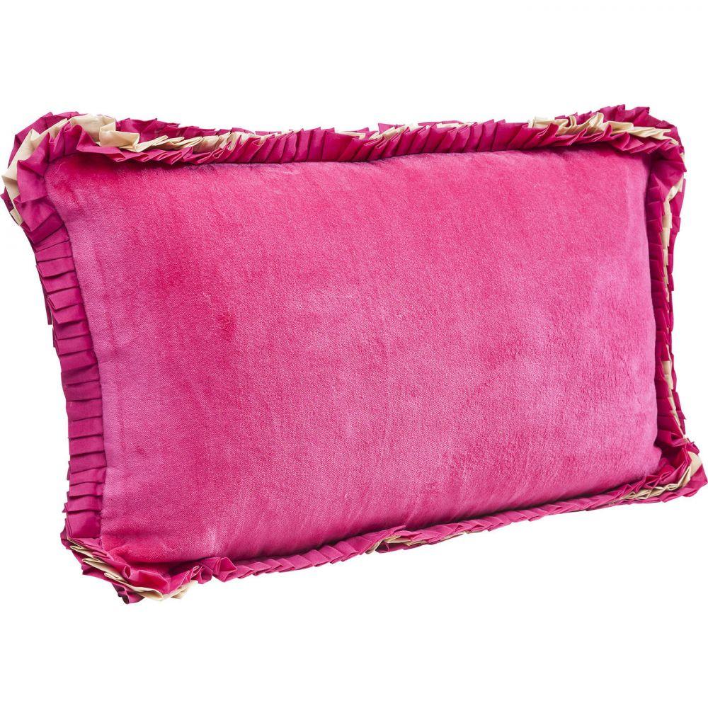 Cushion Frill Uni Pink 30x50cm