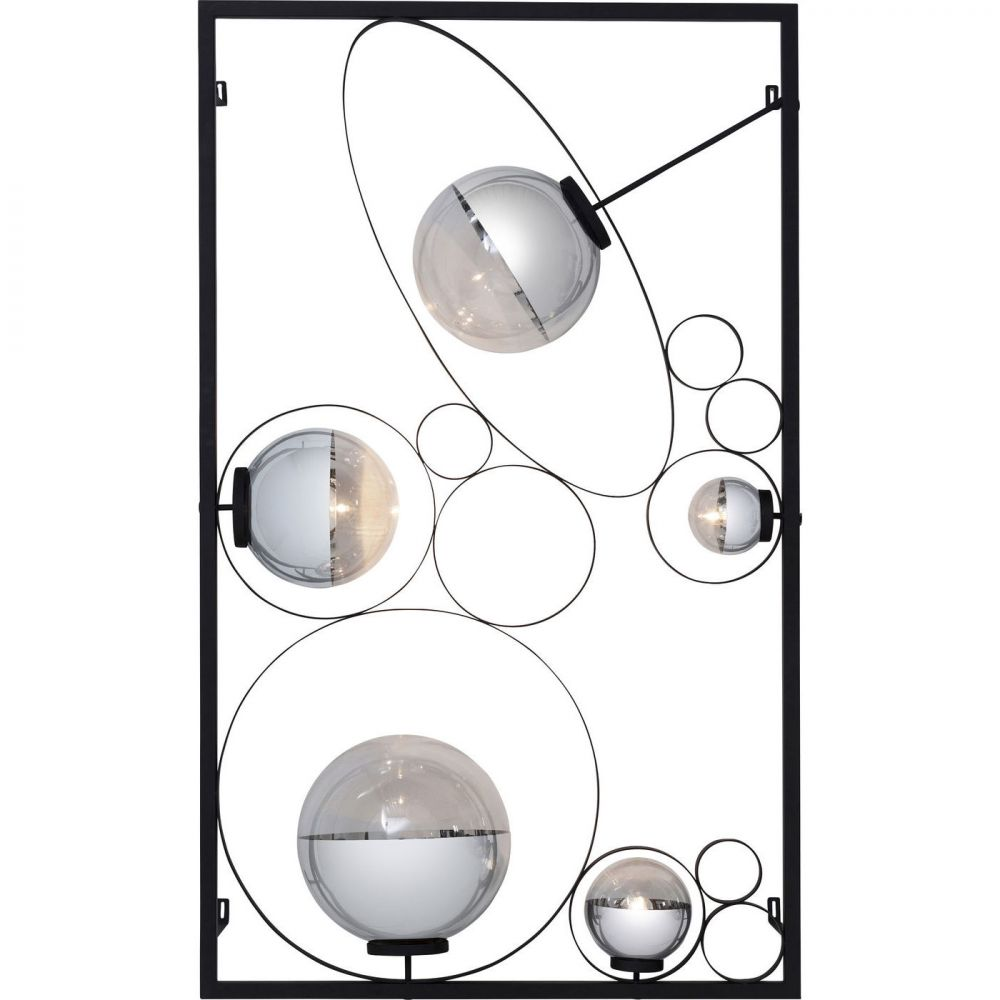Wall Lamp Balloon Clear Led (Excluding Bulb And Socket)