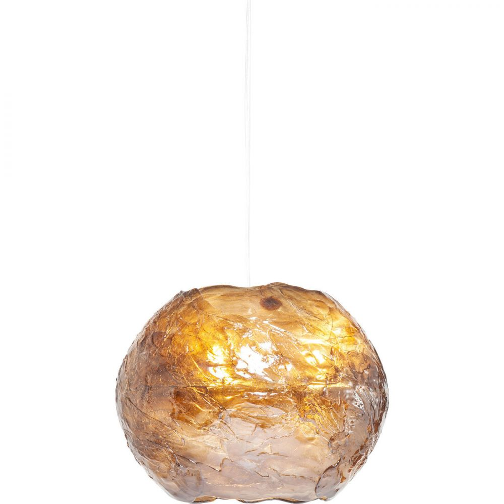 Pendant Lamp Modo Round Brown (Excluding Bulb And Socket)