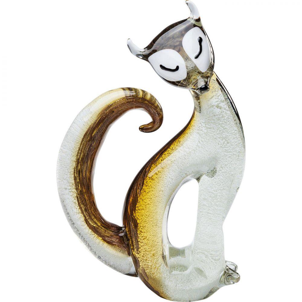 Deco Figurine Fox Bicolor