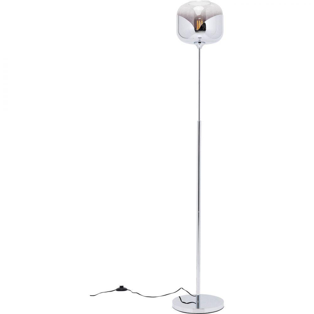 Floor Lamp Chrome Goblet Ball,Silvery (Excluding Bulb)