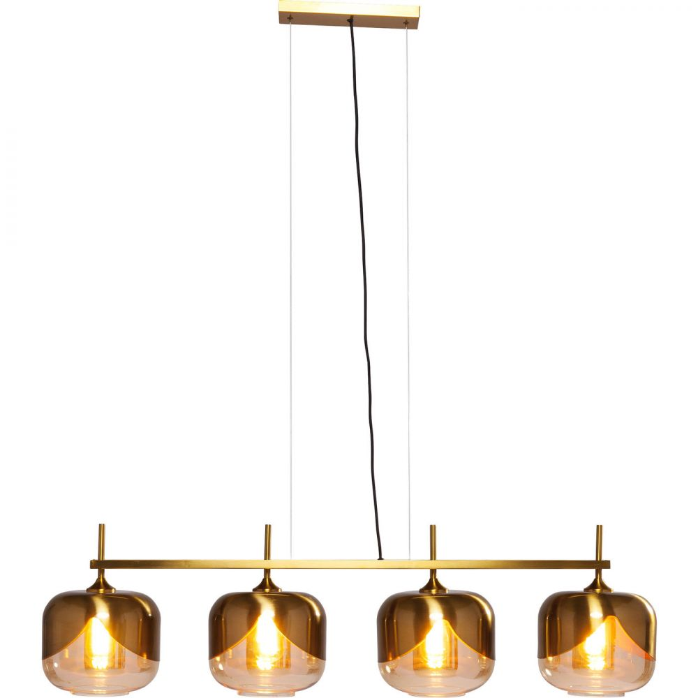Hanging Lamp Golden Goblet Quattro (Excluding Bulb And Socket)