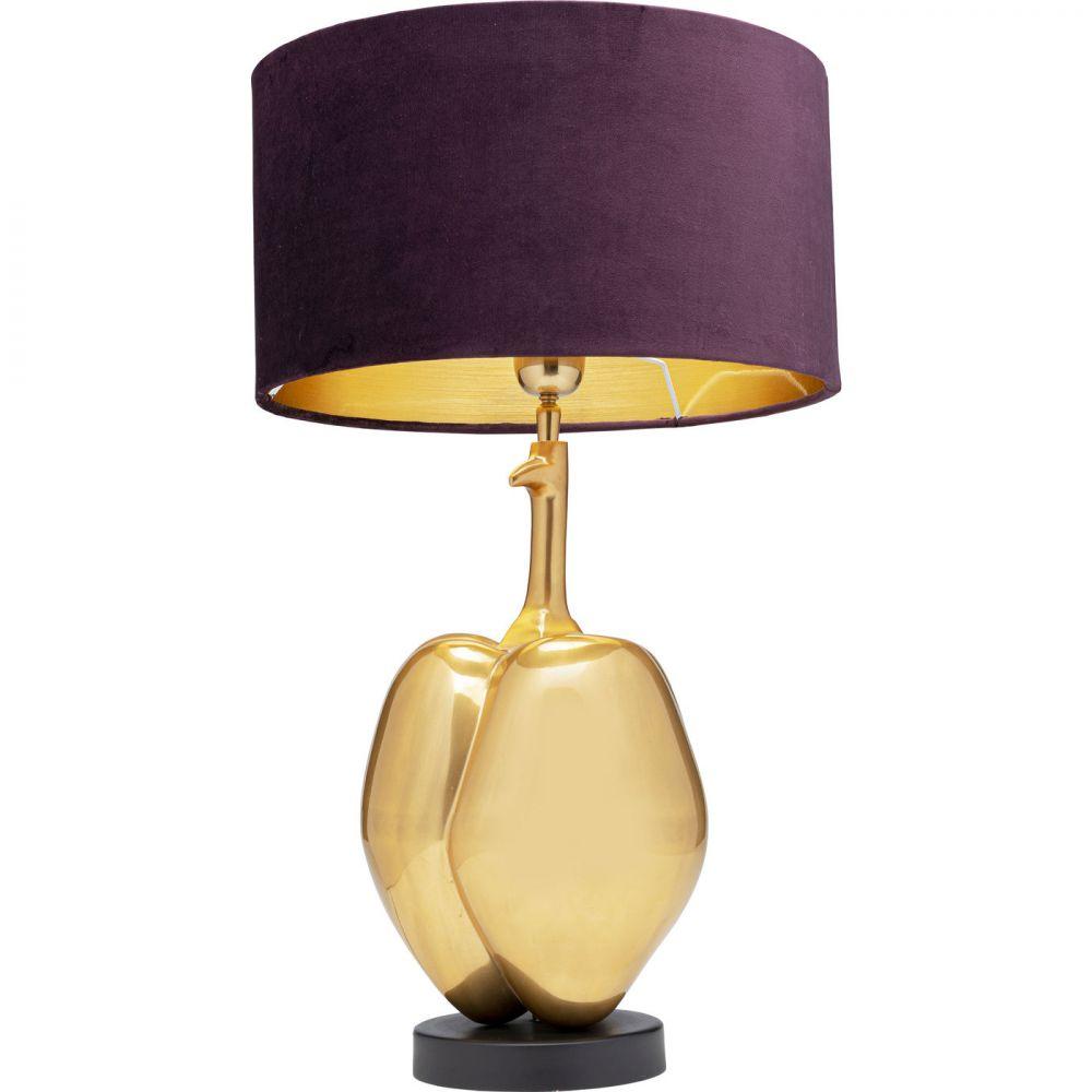Table Lamp Pumpkin,Golden (Excluding Bulb)