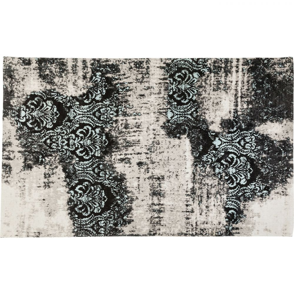 Carpet Kelim Ornament Turquoise 240x170cm