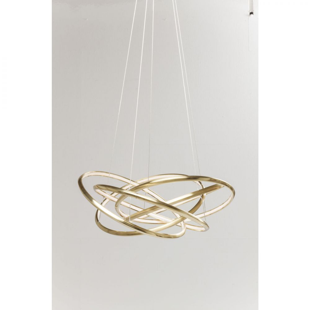 Pendant Lamp Saturn Led Gold Big (Excluding Bulb And Socket)