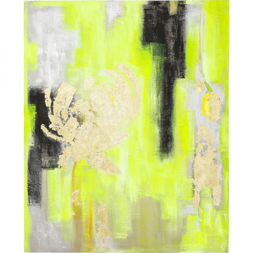 Oil Painting Yellow-Gold 150x120cm