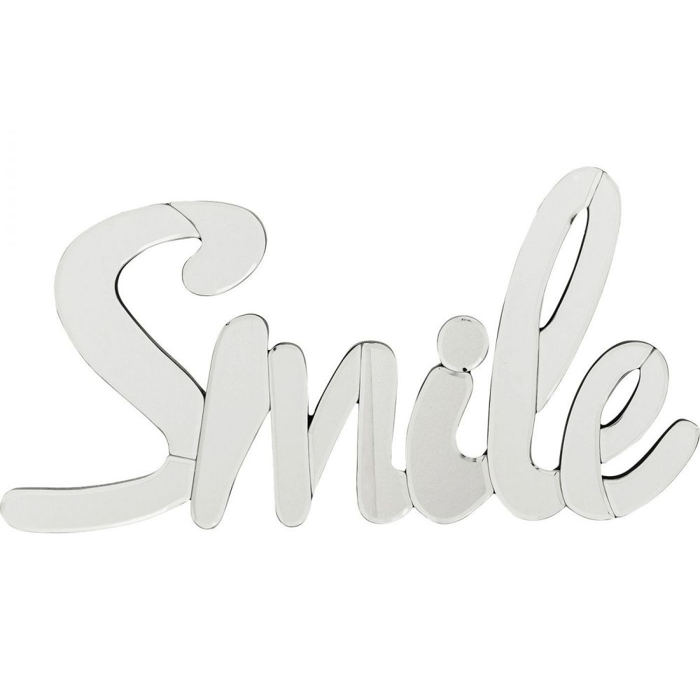 Wall Decoration Mirror Smile Small