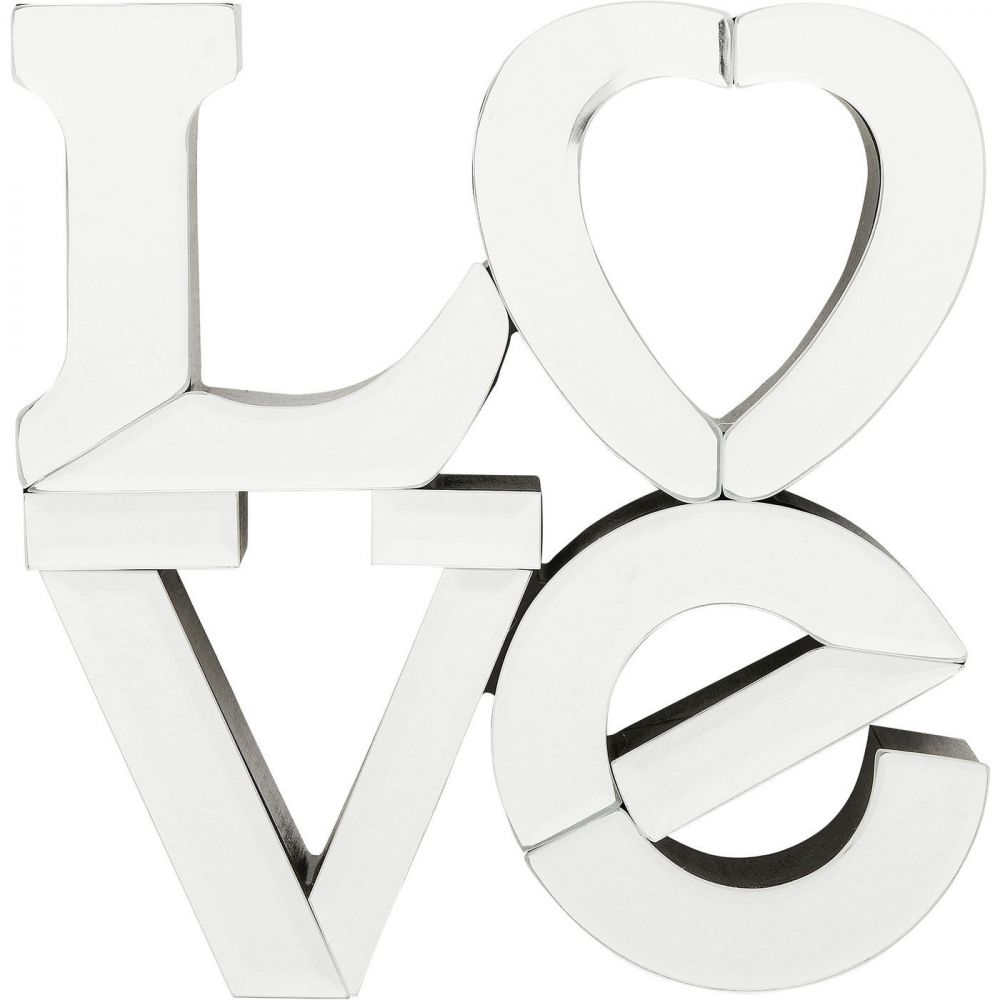 Wall Decoration Mirror Love Small