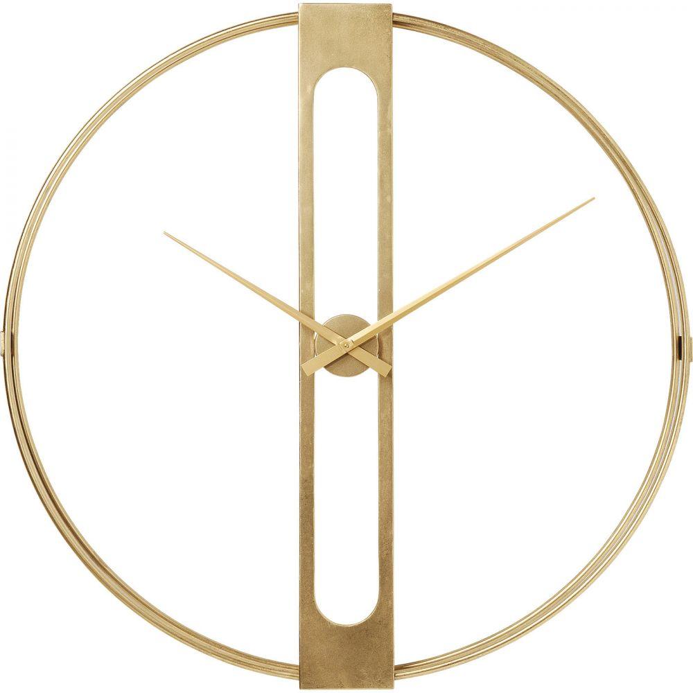 Wall Clock Clip Gold Ø107cm