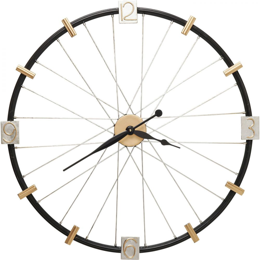 Wall Clock Spoke Wheel 80cm