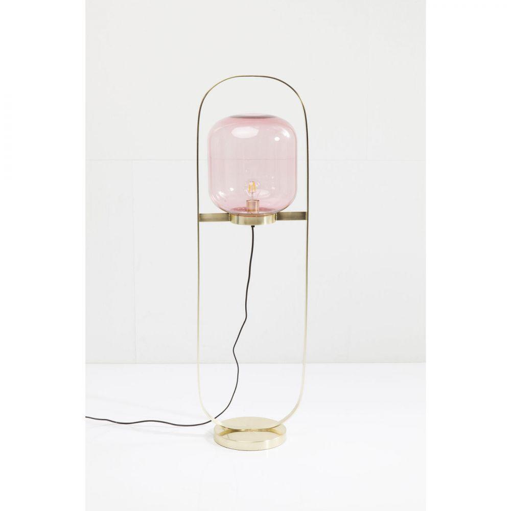 Floor Lamp Jupiter Pink-Brass