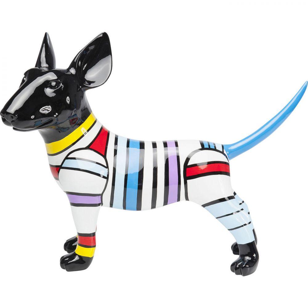 Deco Figurine  Dog Stripe 59cm