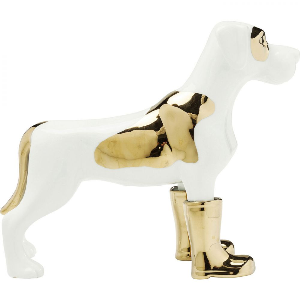 Deco Figurine Dog in Boots Big