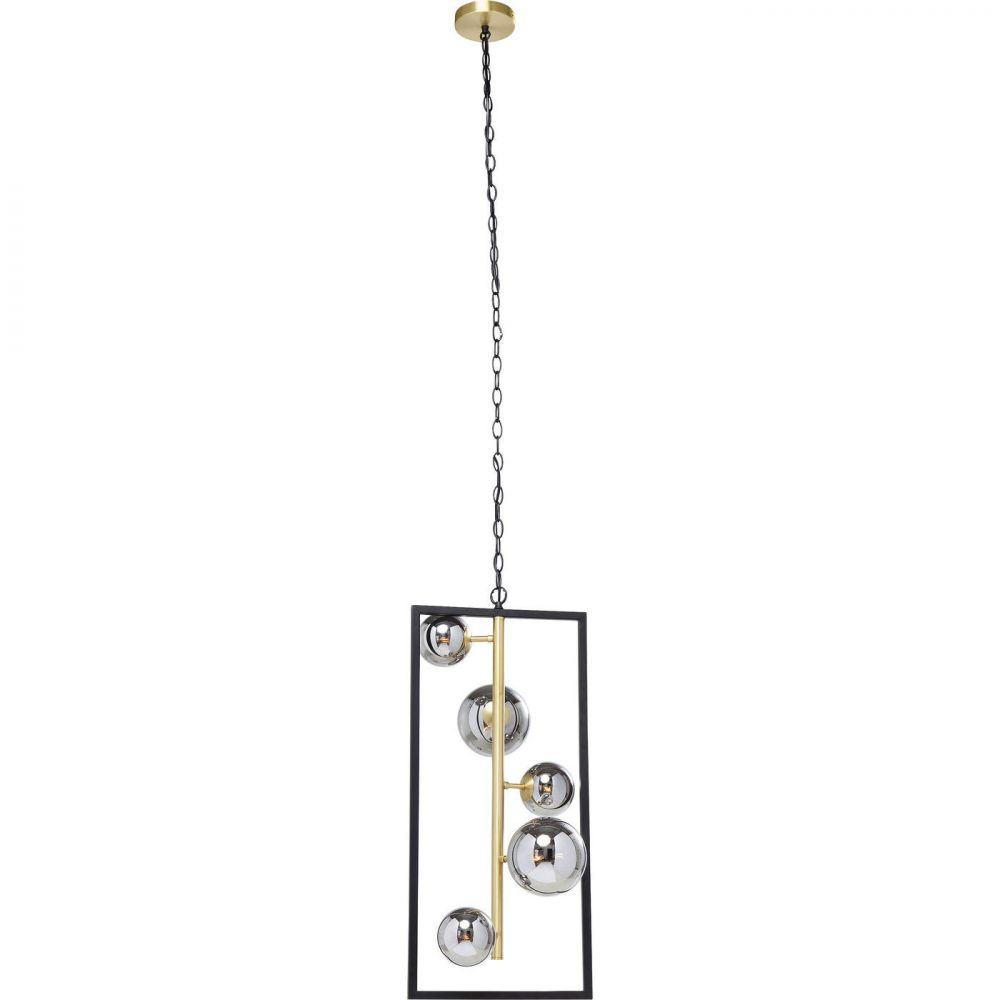 HANGING LAMP BALLOON CUBE 75X34CM (EXCLUDING BULB AND SOCKET)