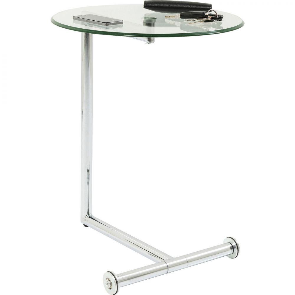 Side Table Easy Living Clear Ø46cm