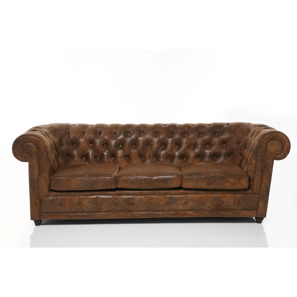 Sofa Oxford 3-Seater Vintage Econo