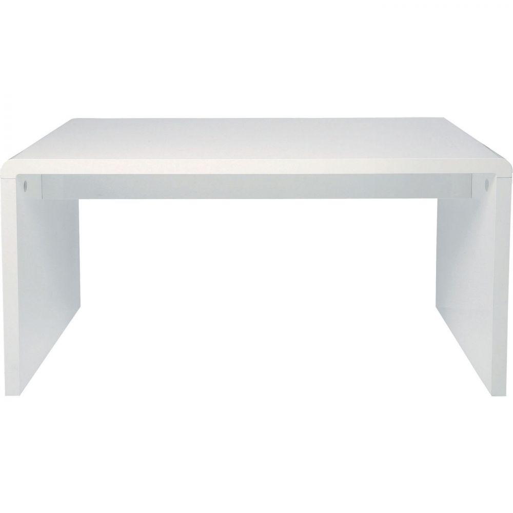 White Club Desk 150x70 cm (KD)