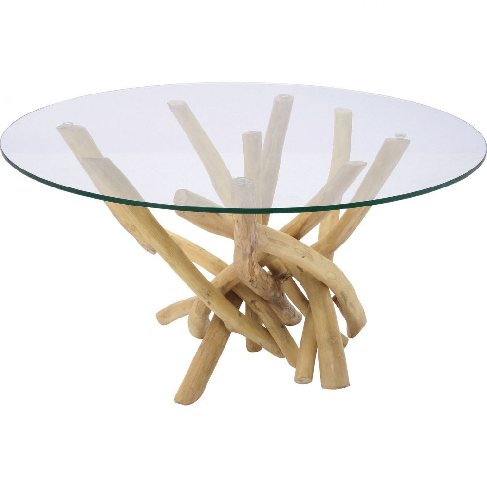 Coffee Table Flint Stone Ø80cm