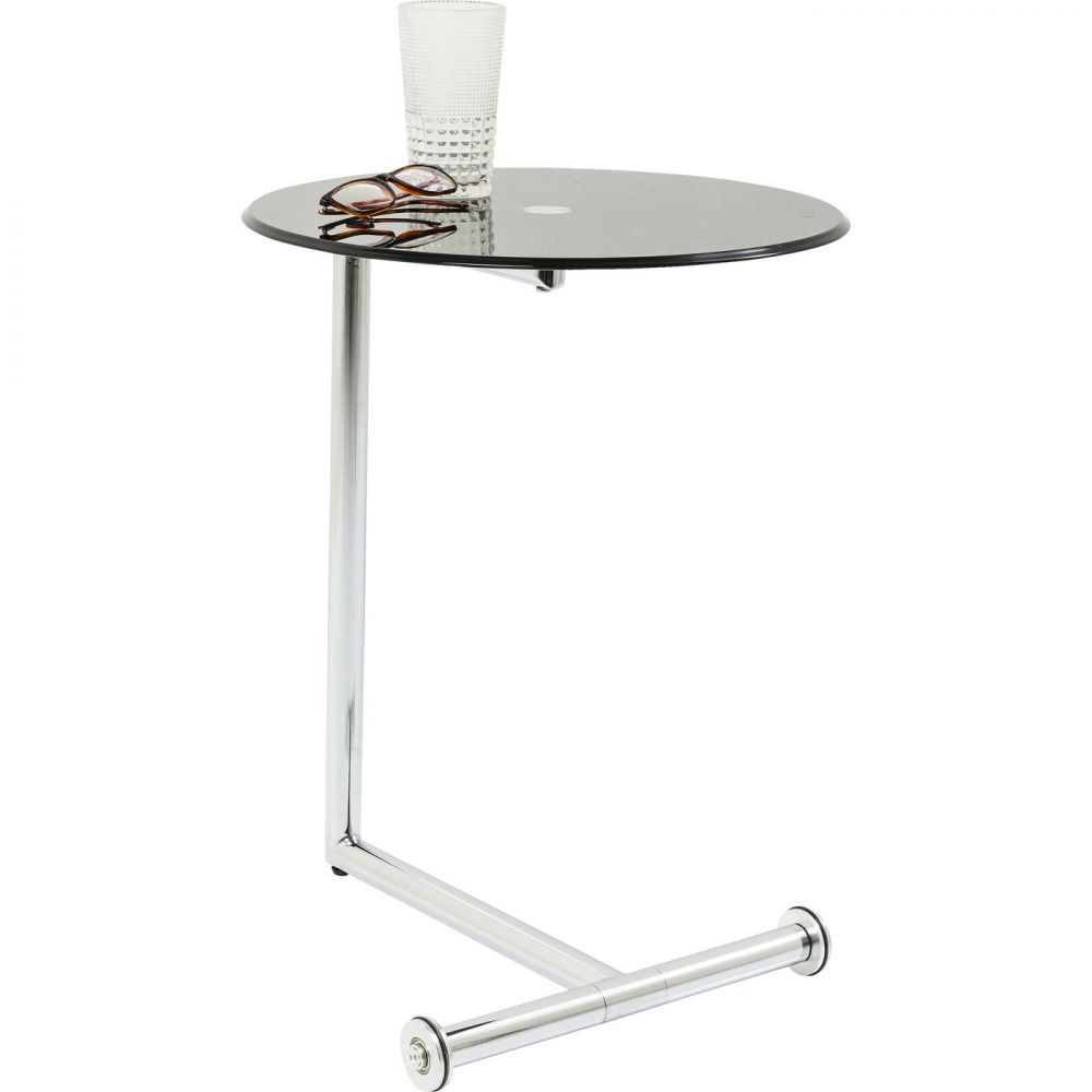 Side Table Easy Living Black Ø46cm